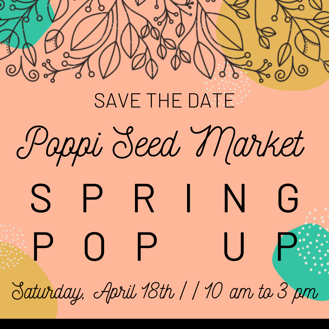 SAVE THE DATE FOR PSM'S POP UP!